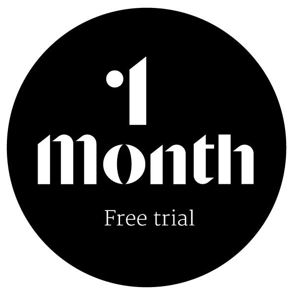1 Month Free Trial
